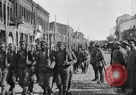 Image of Armenian troops parade Kars Armenia, 1919, second 14 stock footage video 65675053209