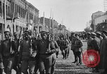 Image of Armenian troops parade Kars Armenia, 1919, second 15 stock footage video 65675053209