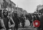 Image of Armenian troops parade Kars Armenia, 1919, second 18 stock footage video 65675053209