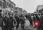 Image of Armenian troops parade Kars Armenia, 1919, second 19 stock footage video 65675053209