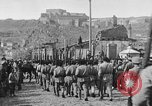 Image of Armenian troops parade Kars Armenia, 1919, second 21 stock footage video 65675053209