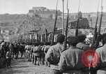 Image of Armenian troops parade Kars Armenia, 1919, second 23 stock footage video 65675053209