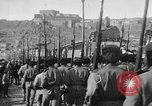 Image of Armenian troops parade Kars Armenia, 1919, second 28 stock footage video 65675053209