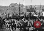Image of Armenian troops parade Kars Armenia, 1919, second 30 stock footage video 65675053209