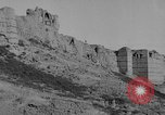 Image of Old forts above city Yerevan Armenia, 1919, second 16 stock footage video 65675053214