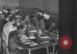 Image of people casting votes France, 1936, second 30 stock footage video 65675053230