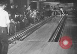Image of blind bowlers New York City USA, 1936, second 19 stock footage video 65675053234