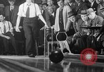 Image of blind bowlers New York City USA, 1936, second 21 stock footage video 65675053234