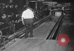 Image of blind bowlers New York City USA, 1936, second 27 stock footage video 65675053234