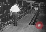 Image of blind bowlers New York City USA, 1936, second 28 stock footage video 65675053234
