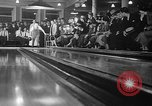 Image of blind bowlers New York City USA, 1936, second 34 stock footage video 65675053234