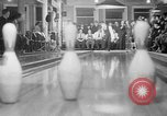 Image of blind bowlers New York City USA, 1936, second 38 stock footage video 65675053234