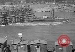 Image of uncompleted structure Bonneville Oregon USA, 1936, second 13 stock footage video 65675053237