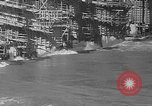 Image of uncompleted structure Bonneville Oregon USA, 1936, second 15 stock footage video 65675053237