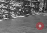 Image of uncompleted structure Bonneville Oregon USA, 1936, second 16 stock footage video 65675053237
