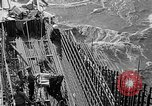 Image of uncompleted structure Bonneville Oregon USA, 1936, second 25 stock footage video 65675053237
