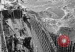 Image of uncompleted structure Bonneville Oregon USA, 1936, second 26 stock footage video 65675053237