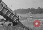 Image of uncompleted structure Bonneville Oregon USA, 1936, second 41 stock footage video 65675053237