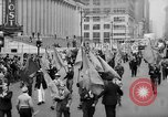 Image of May Day Parade New York City USA, 1941, second 19 stock footage video 65675053242