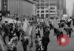 Image of May Day Parade New York City USA, 1941, second 21 stock footage video 65675053242
