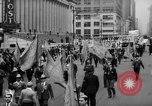 Image of May Day Parade New York City USA, 1941, second 22 stock footage video 65675053242