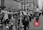 Image of May Day Parade New York City USA, 1941, second 23 stock footage video 65675053242