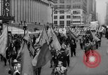 Image of May Day Parade New York City USA, 1941, second 24 stock footage video 65675053242