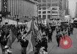 Image of May Day Parade New York City USA, 1941, second 25 stock footage video 65675053242