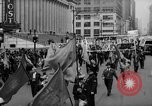 Image of May Day Parade New York City USA, 1941, second 26 stock footage video 65675053242