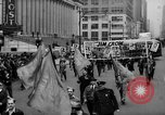 Image of May Day Parade New York City USA, 1941, second 29 stock footage video 65675053242
