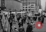 Image of May Day Parade New York City USA, 1941, second 31 stock footage video 65675053242