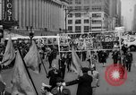 Image of May Day Parade New York City USA, 1941, second 32 stock footage video 65675053242