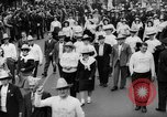 Image of May Day Parade New York City USA, 1941, second 37 stock footage video 65675053242