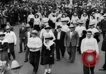 Image of May Day Parade New York City USA, 1941, second 38 stock footage video 65675053242