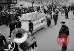 Image of May Day Parade New York City USA, 1941, second 43 stock footage video 65675053242