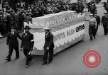 Image of May Day Parade New York City USA, 1941, second 47 stock footage video 65675053242