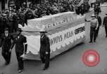 Image of May Day Parade New York City USA, 1941, second 48 stock footage video 65675053242