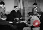 Image of Mayor F H LaGuardia New York City USA, 1941, second 40 stock footage video 65675053244