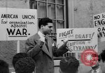 Image of American Union for Organization against War New York City USA, 1941, second 62 stock footage video 65675053246