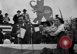 Image of Presidential candidate Wendell Willkie on the campaign trail Bloomington Illinois USA, 1940, second 5 stock footage video 65675053248