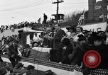Image of Presidential candidate Wendell Willkie on the campaign trail Bloomington Illinois USA, 1940, second 9 stock footage video 65675053248