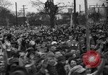 Image of Presidential candidate Wendell Willkie on the campaign trail Bloomington Illinois USA, 1940, second 10 stock footage video 65675053248