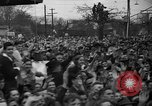 Image of Presidential candidate Wendell Willkie on the campaign trail Bloomington Illinois USA, 1940, second 13 stock footage video 65675053248