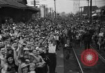 Image of Presidential candidate Wendell Willkie on the campaign trail Bloomington Illinois USA, 1940, second 20 stock footage video 65675053248