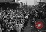Image of Presidential candidate Wendell Willkie on the campaign trail Bloomington Illinois USA, 1940, second 21 stock footage video 65675053248