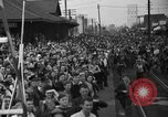 Image of Presidential candidate Wendell Willkie on the campaign trail Bloomington Illinois USA, 1940, second 22 stock footage video 65675053248