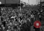 Image of Presidential candidate Wendell Willkie on the campaign trail Bloomington Illinois USA, 1940, second 24 stock footage video 65675053248