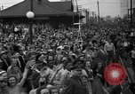 Image of Presidential candidate Wendell Willkie on the campaign trail Bloomington Illinois USA, 1940, second 25 stock footage video 65675053248