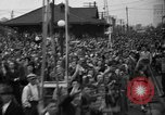 Image of Presidential candidate Wendell Willkie on the campaign trail Bloomington Illinois USA, 1940, second 26 stock footage video 65675053248