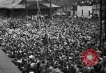 Image of Presidential candidate Wendell Willkie on the campaign trail Bloomington Illinois USA, 1940, second 27 stock footage video 65675053248